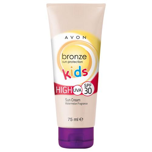 Солнцезащитный детский крем с ароматом арбуза SPF30