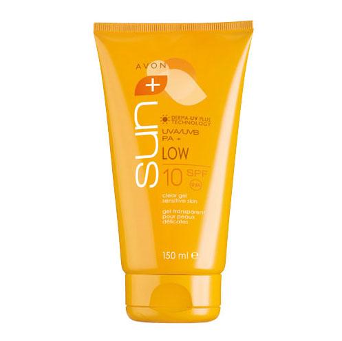 Солнцезащитный гель для чувствительной кожи SPF10