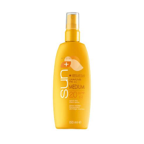 Солнцезащитный спрей для тела Мгновенный эффект SPF20
