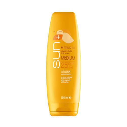 Солнцезащитный увлажняющий крем для чувствительной кожи SPF25