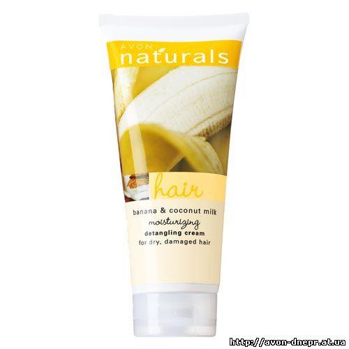 Увлажняющий крем для облегчения расчёсывания волос